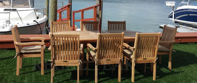 Regal Teak Outdoor Patio Furniture Wholesale